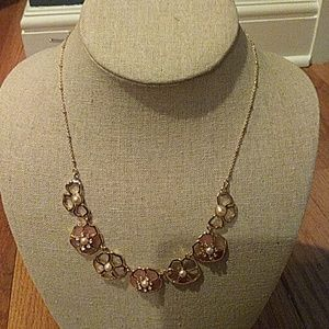 Kate spade pearl and gold necklace